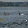 The unlimited kayak class lined up for the start so I took a spot that gave me a good line for the hole shot. Although the Essex is a wide […]