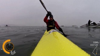 2015 Snow Row Surf Ski Video