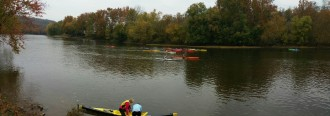 Flat water clinic with Hansel and Kim of Performance Kayaking